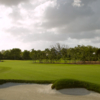 A view of a fairway at Pine Tree Golf Club