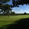 Looking back from a green from the Kingfisher Course at Mannings Heath Golf Club
