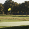 A view of a green at Sonning Golf Club