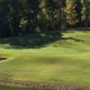 A view of a hole at Mineral Mound Golf Course