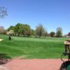 A spring day view from Sydney R. Marovitz Golf Course