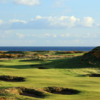 A view of the 12th green at Ailsa Course from Trump Turnberry Resort