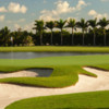 A view of hole #9 at Blue Monster Course from Trump National Doral Miami
