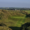 View of the par-3 4th hole from Bann course at Castlerock Golf Club