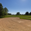 There are two large fairway bunkers to the left off of the third tee on the Heritage Hills Golf Course in York, Pa.