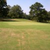 A view of a green at Little Fishing Creek Golf Course