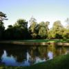 A view over the water from Hever Castle Golf Club