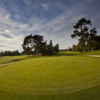 A sunny day view of a green at Hever Castle Golf Club