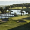 Bunkered green at Cove Cay Golf Club