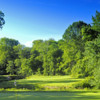 A sunny day view from Cobb's Creek Golf Club