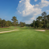 Looking back from the 4th hole from the Stonemont at Stone Mountain Golf Course