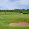 A view of hole #13 at Old Course from Edzell Golf Club.