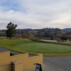 View of the putting green at Admiral Baker Golf Course.
