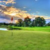 A view of hole #16 at Sandy Creek Golf Club