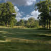 View of a green from a fairway at Falcon Lakes Golf Course