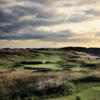 A view of a green at Royal Portrush Golf Club