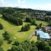 A birdseye view of the Lochwinnoch Golf Course