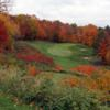 A splendid fall day view of a hole at Deerhurst Highlands Golf Course