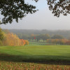 View of the 16th green at West Essex Golf Club