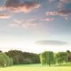 View from a green at Surbiton Golf Club