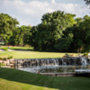 Waterfall on 15th hole at Star Ranch
