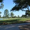 A view of hole #2 with water in background at Lighthouse Country Club