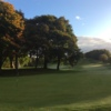 A view from the 11th green at Cowglen Golf Club