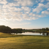 A twilight view from Shepherd's Rock Golf Course at Nemacolin Woodlands Resort