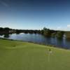 View from a green at Raptor Bay Golf Club