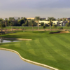 View of the finishing hole from the Palms Course at Palm Valley Golf Club