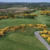 View of the 13th hole from the tee at Scrabo Golf Club