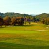 View of a green from The Ridges Country Club
