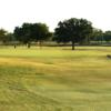 View of the 17th hole from Eighteen Course at Riverside Municipal Golf Course