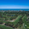 Aerial view of Beachwood Golf Club