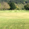 Looking back from green #8 at Betws-y-Coed Golf Club.