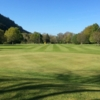 Looking back from the 3rd green at Betws-y-Coed Golf Club