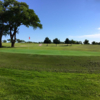 A view of the 8th hole at Tule Lake Golf Club.