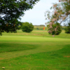 A view of the 2nd hole at Hythe Golf Club.