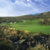 A view of the 16th hole at Arizona National Golf Club