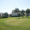 A view of the 3rd hole at Sandpiper Cove Golf Course.