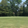 A view of a green at Lake Village Country Club.