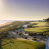 View from the 17th tee at Links at Wild Dunes Golf Links
