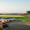 View of the 18th hole from the Links at Wild Dunes Golf Links