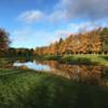 A fall day view from Massereene Golf Club.