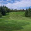 A view of a hole at Hilton Park Golf Club.