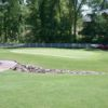 View of the 4th green at Glen Oaks Country Club