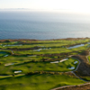 Aerial view from Trump National Golf Club