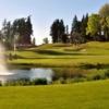 View of the 18th hole at Nile Shrine Golf Course