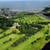 Aerial view of the Duff House Royal Golf Club