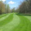 View of a green at Hickory Heights Golf Club - Public